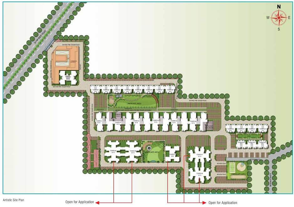 Signature Solera-2 Layout Plan