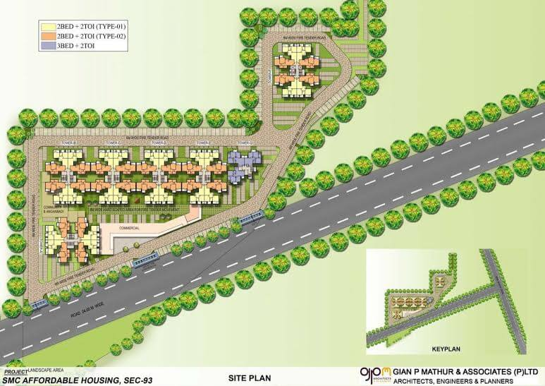 Signature Orchard Avenue Layout Plan