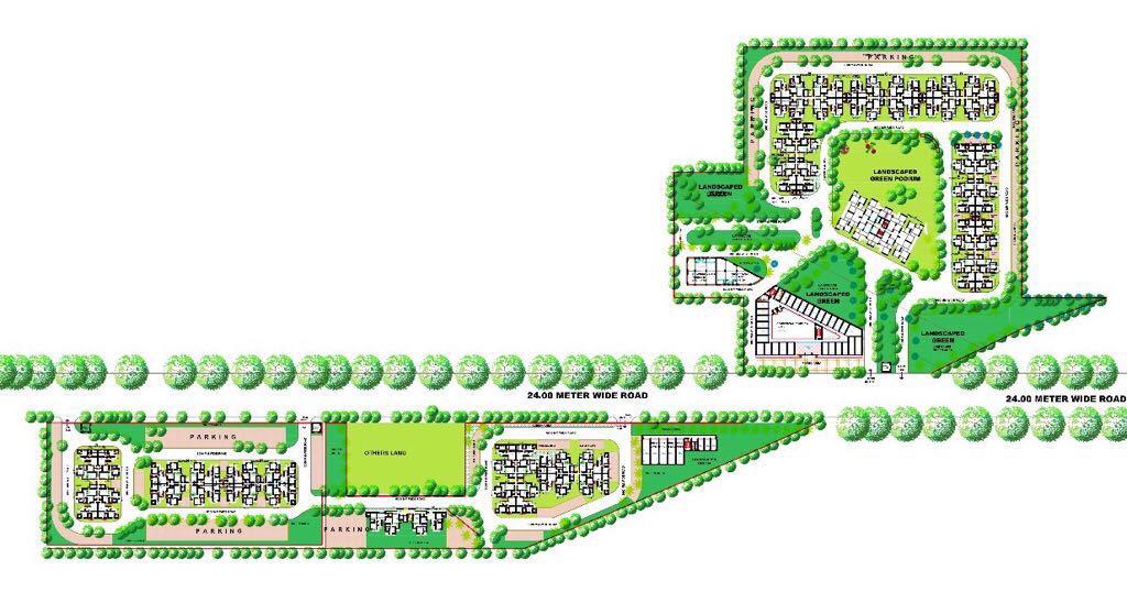Mahira Homes Layout Plan