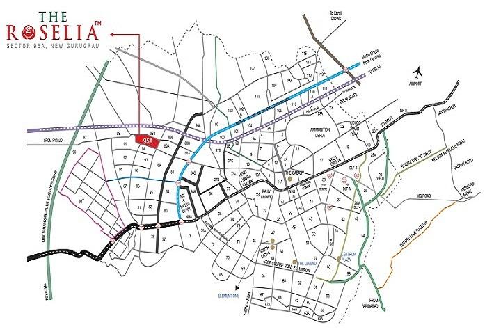 Signature The Roselia Layout Plan