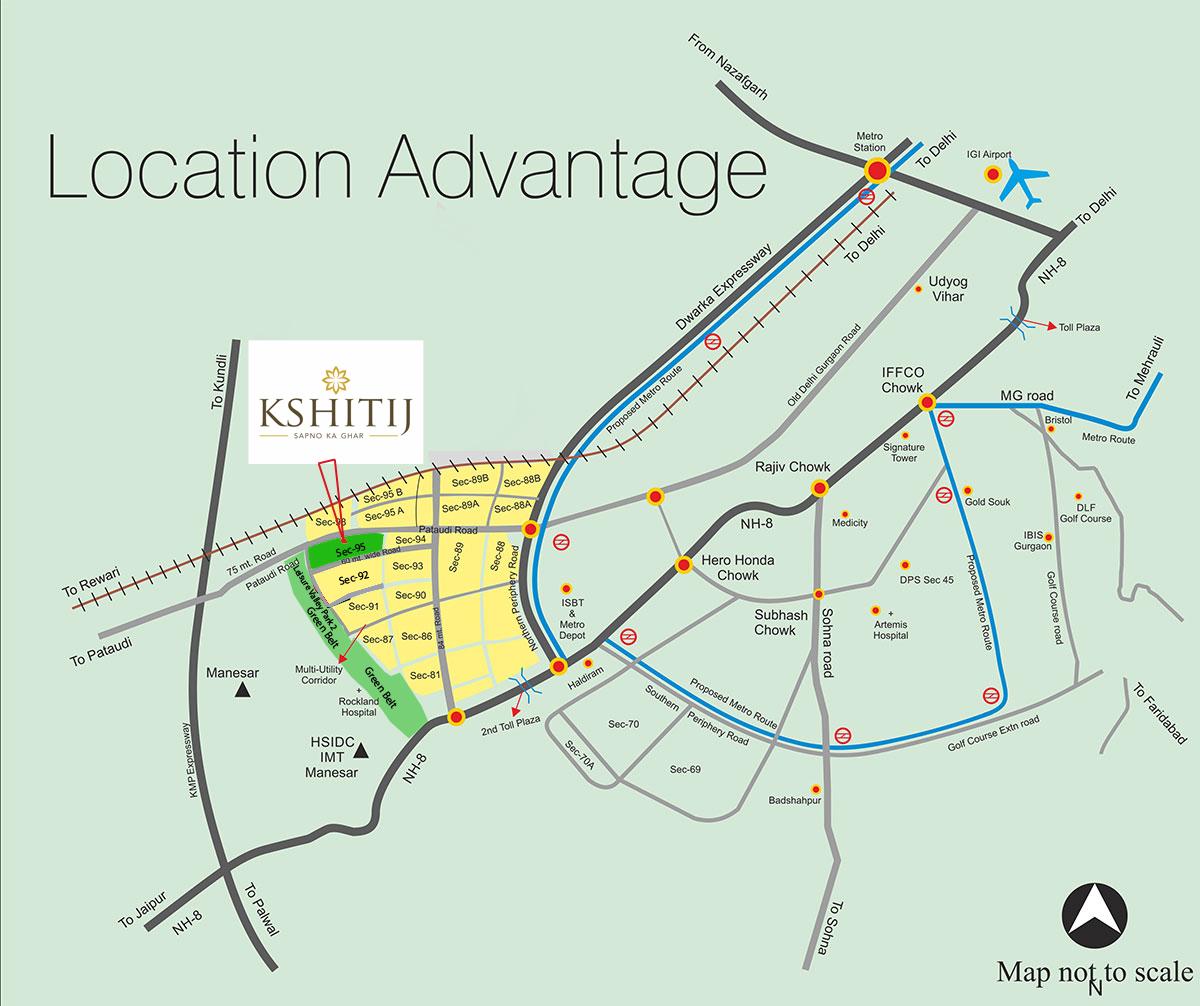 Ramsons Kshitij Layout Plan