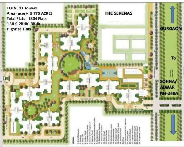 Signature  Serenas Layout Plan