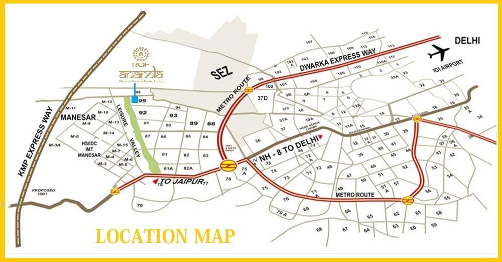 ROF Ananda Homes Layout Plan