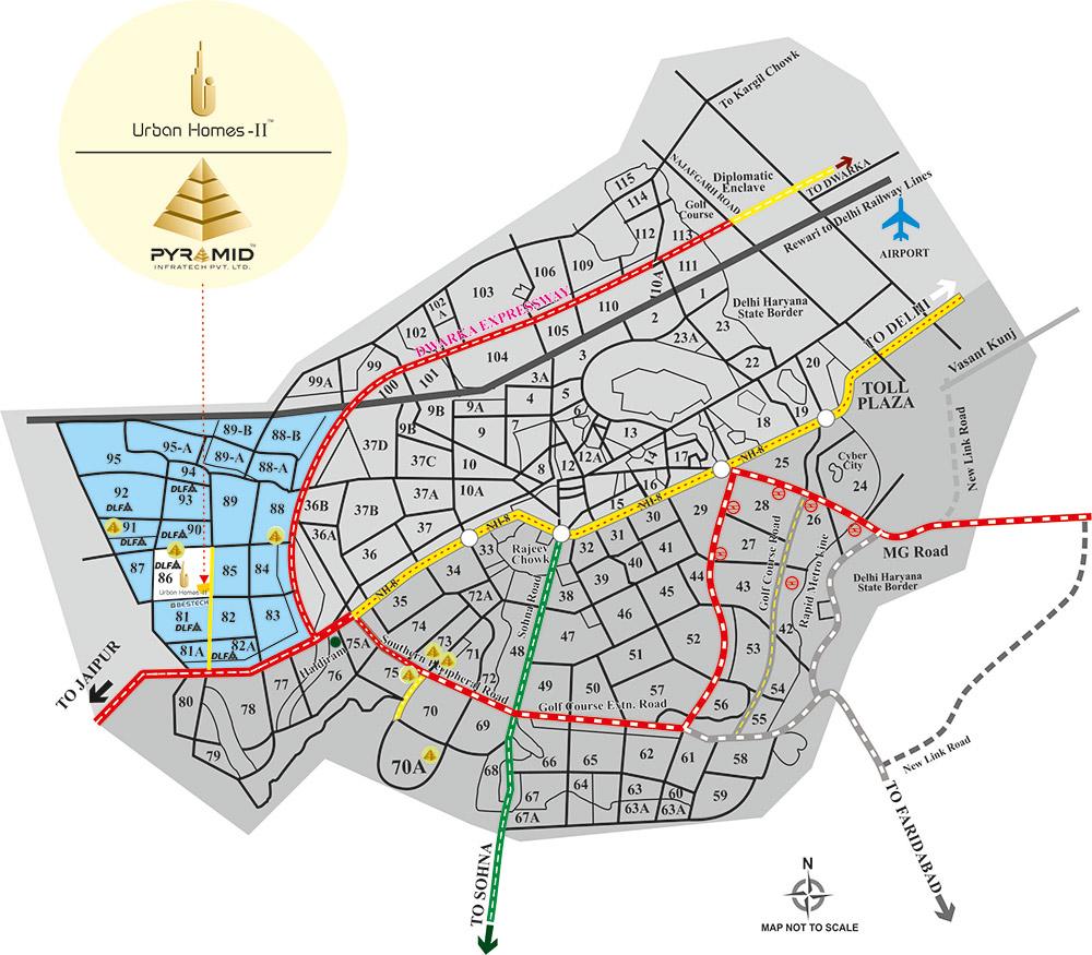 Pyramid Urban Homes II Layout Plan