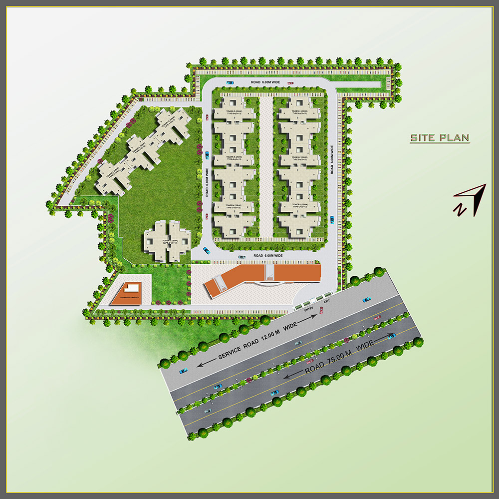 Pyramid Urban Homes II Layout Plan