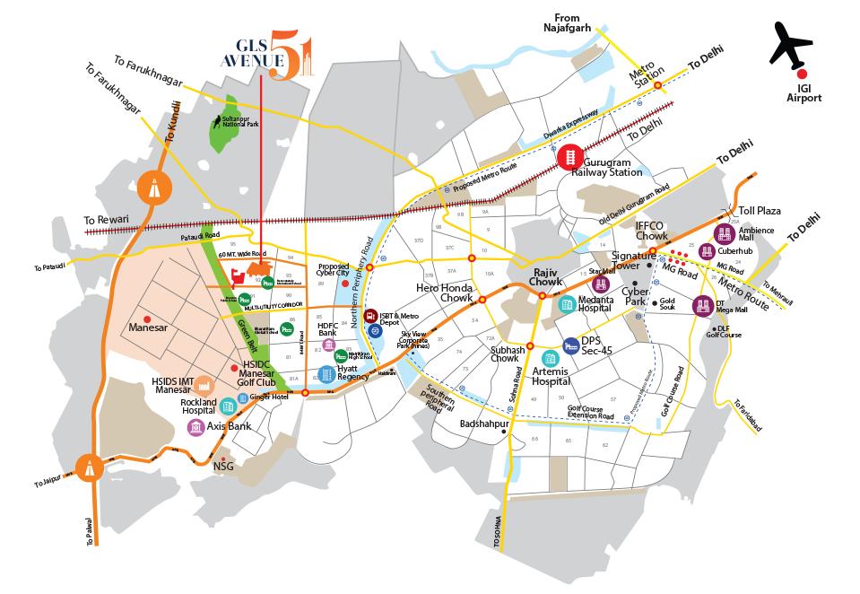 GLS Avenue 51 Layout Plan