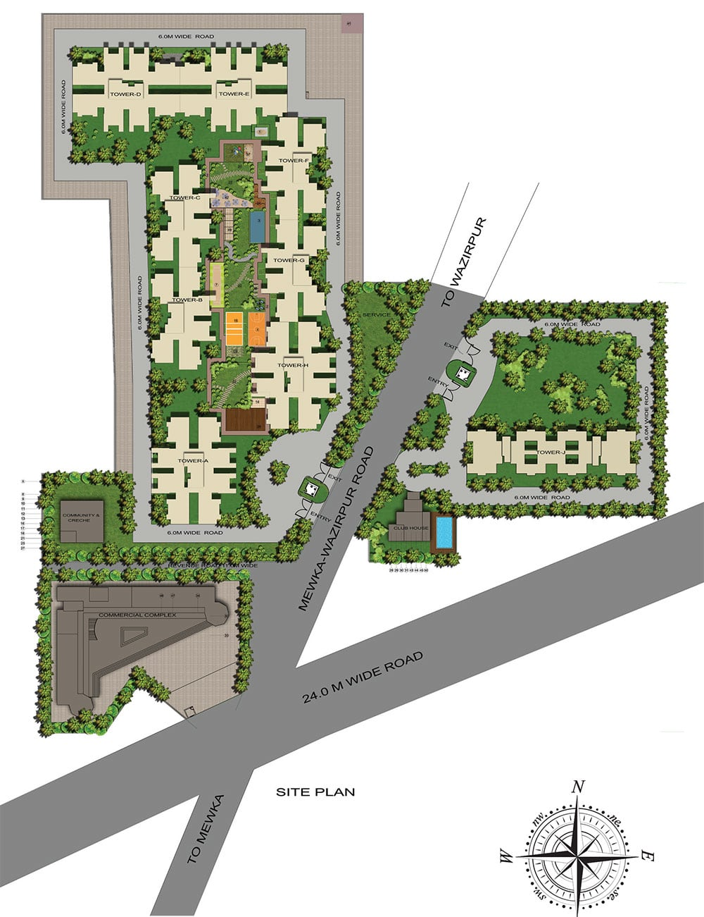 GLS Avenue 51 Layout Plan