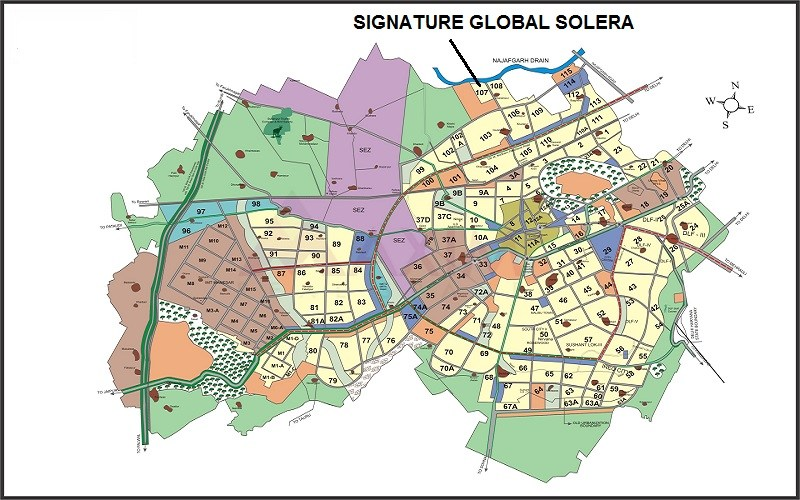 Signature Solera Layout Plan