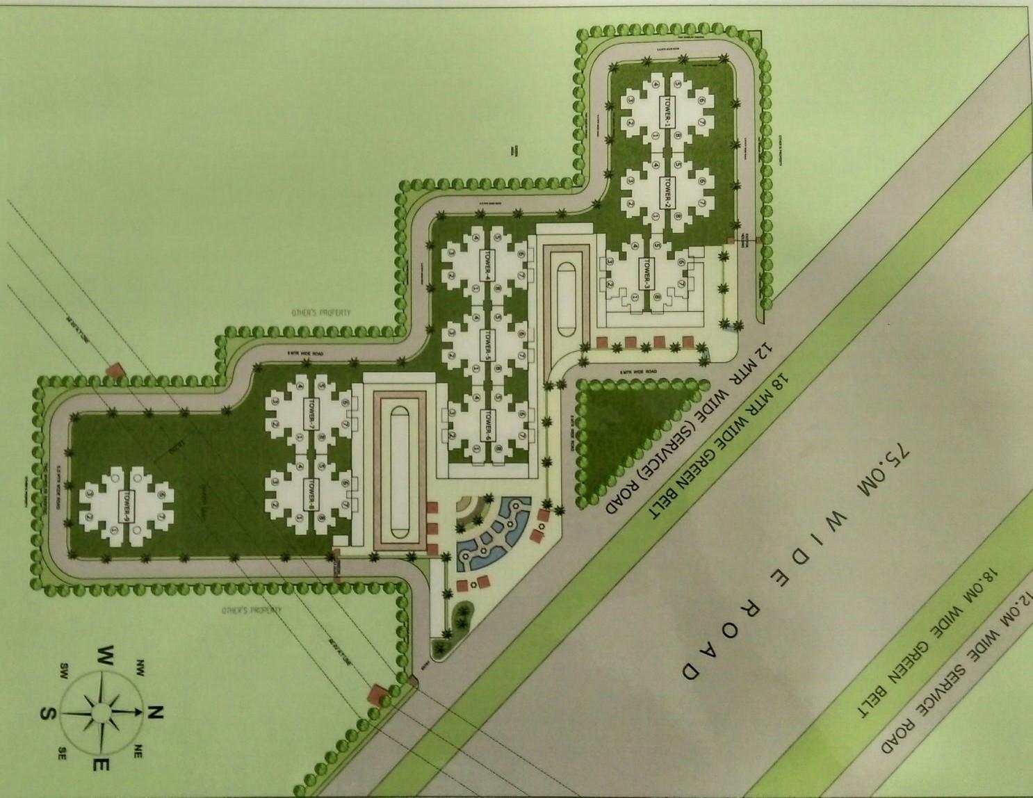 Pivotal Ridhi Sidhi Layout Plan