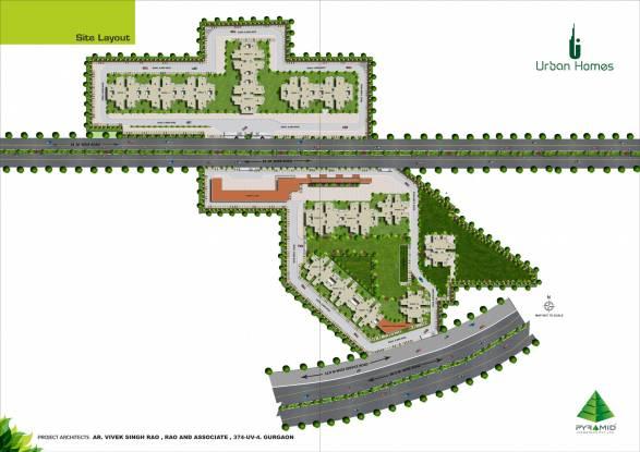 Pyramid Urban Homes Layout Plan
