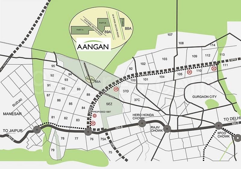 Adani Aangan Layout Plan
