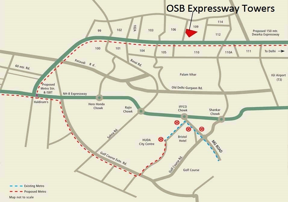 OSB Expressway Towers Layout Plan