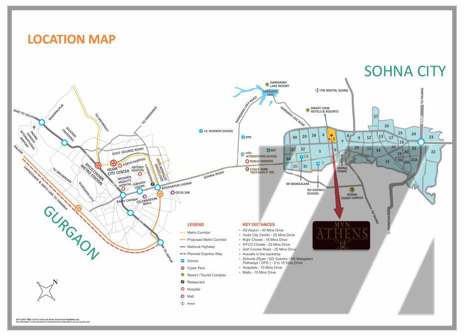 MVN ATHENS Layout Plan