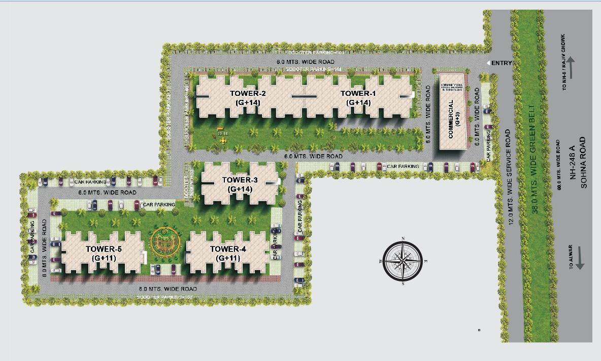 Tulsiani Easy in Homes Layout Plan