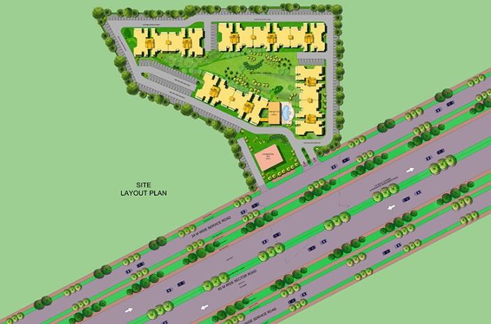 Bedarwals Golf Drive 63 A Layout Plan