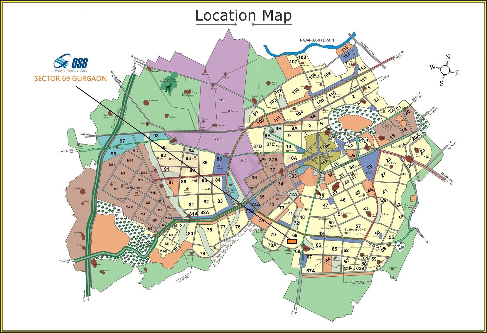 OSB Golf Heights Layout Plan