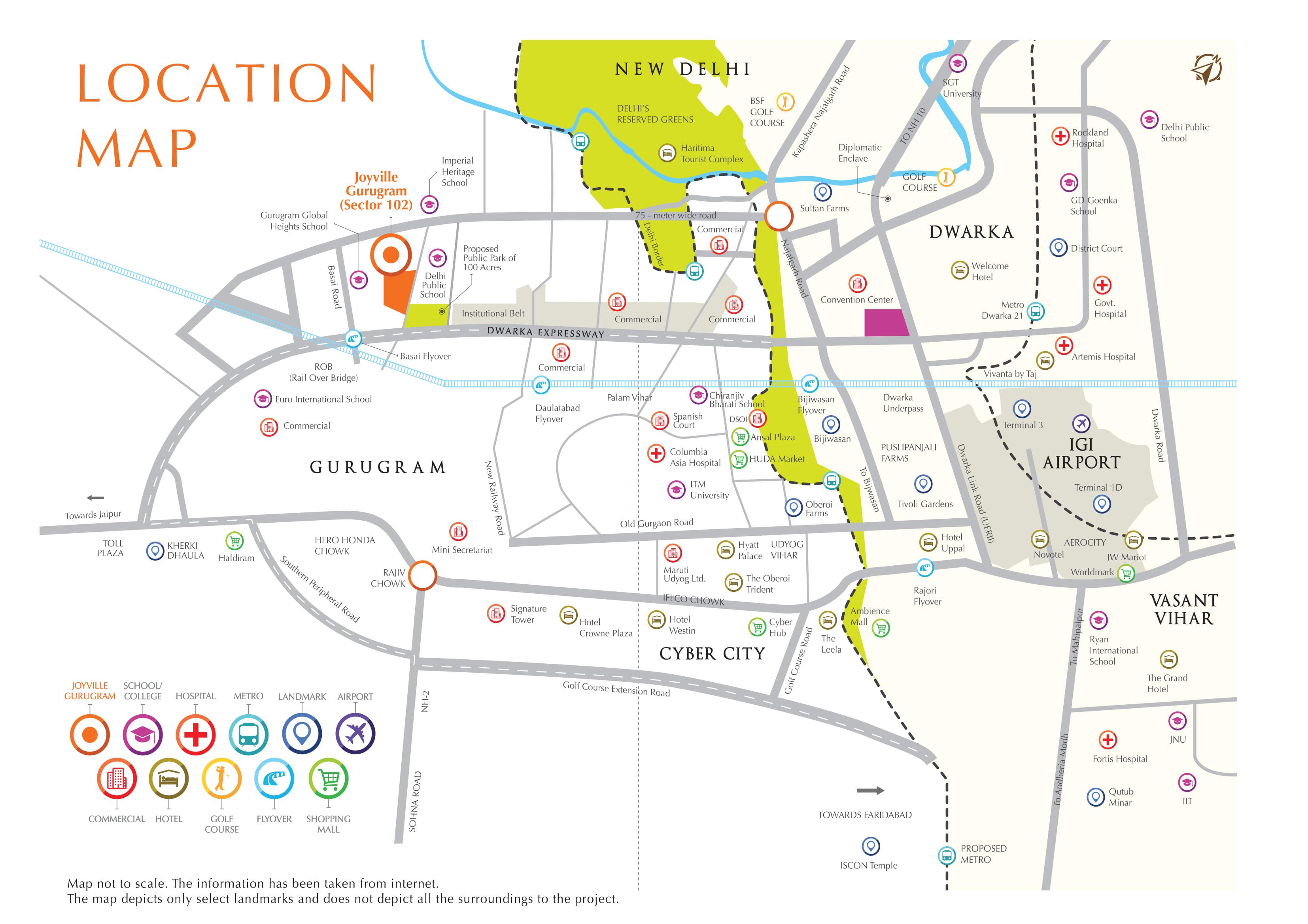 Shapoorji Pallonji Joyville Layout Plan