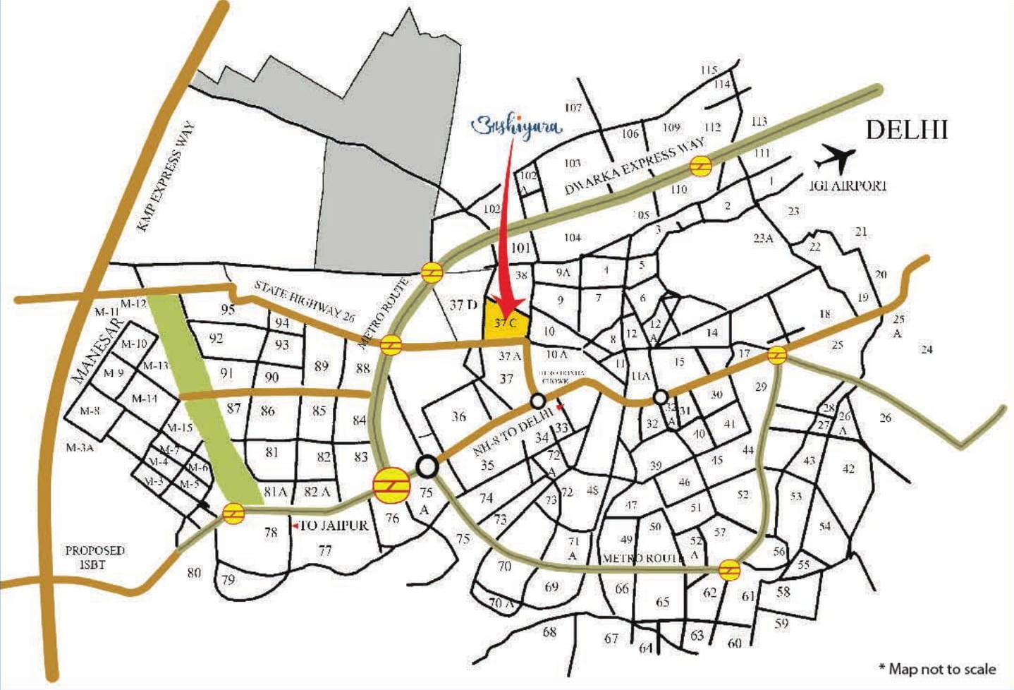 Imperia Aashiyara Layout Plan
