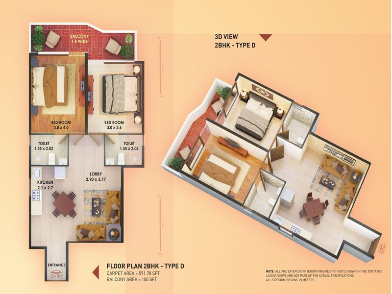 D Layout Plan