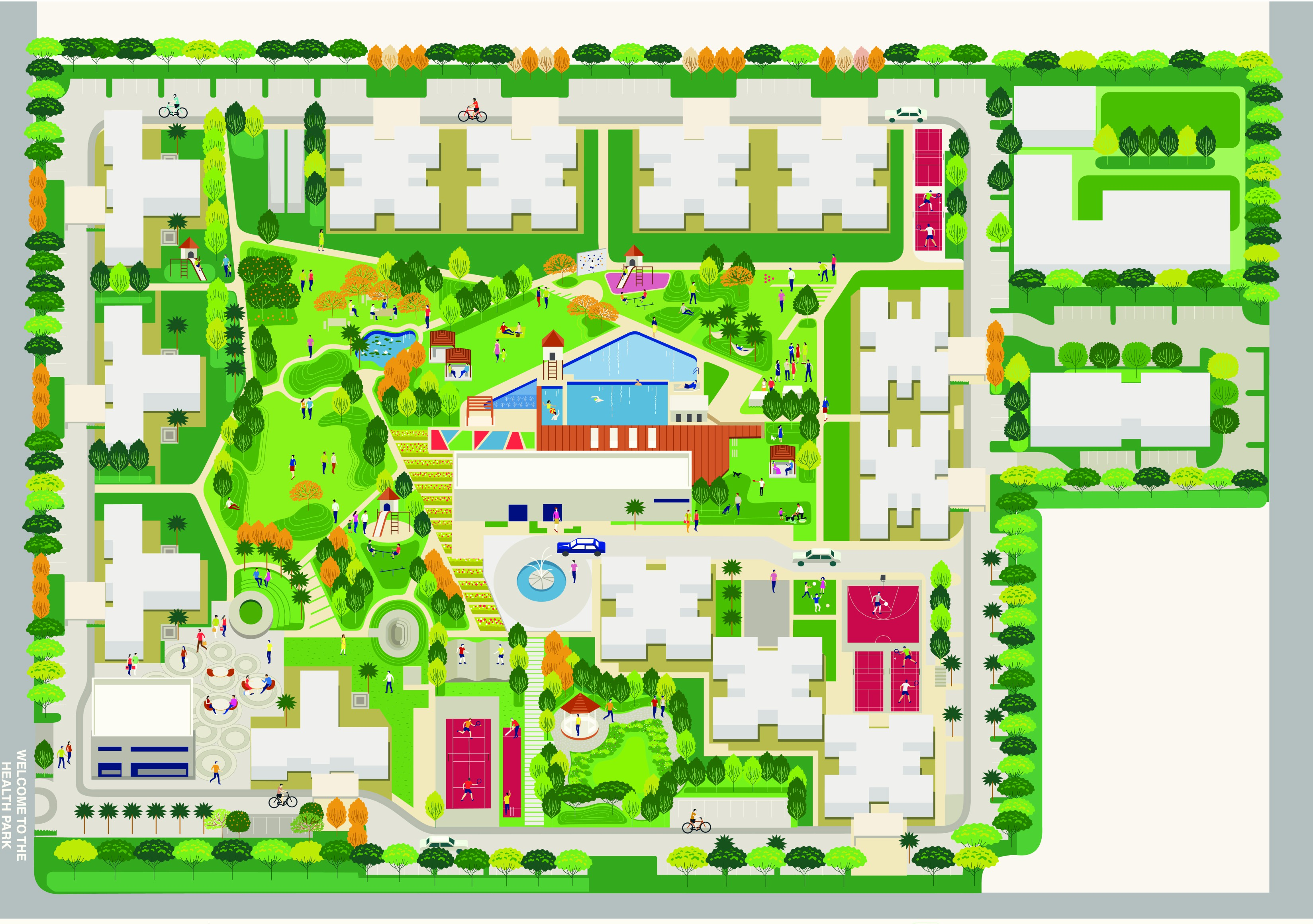 Godrej Nature+ Layout Plan