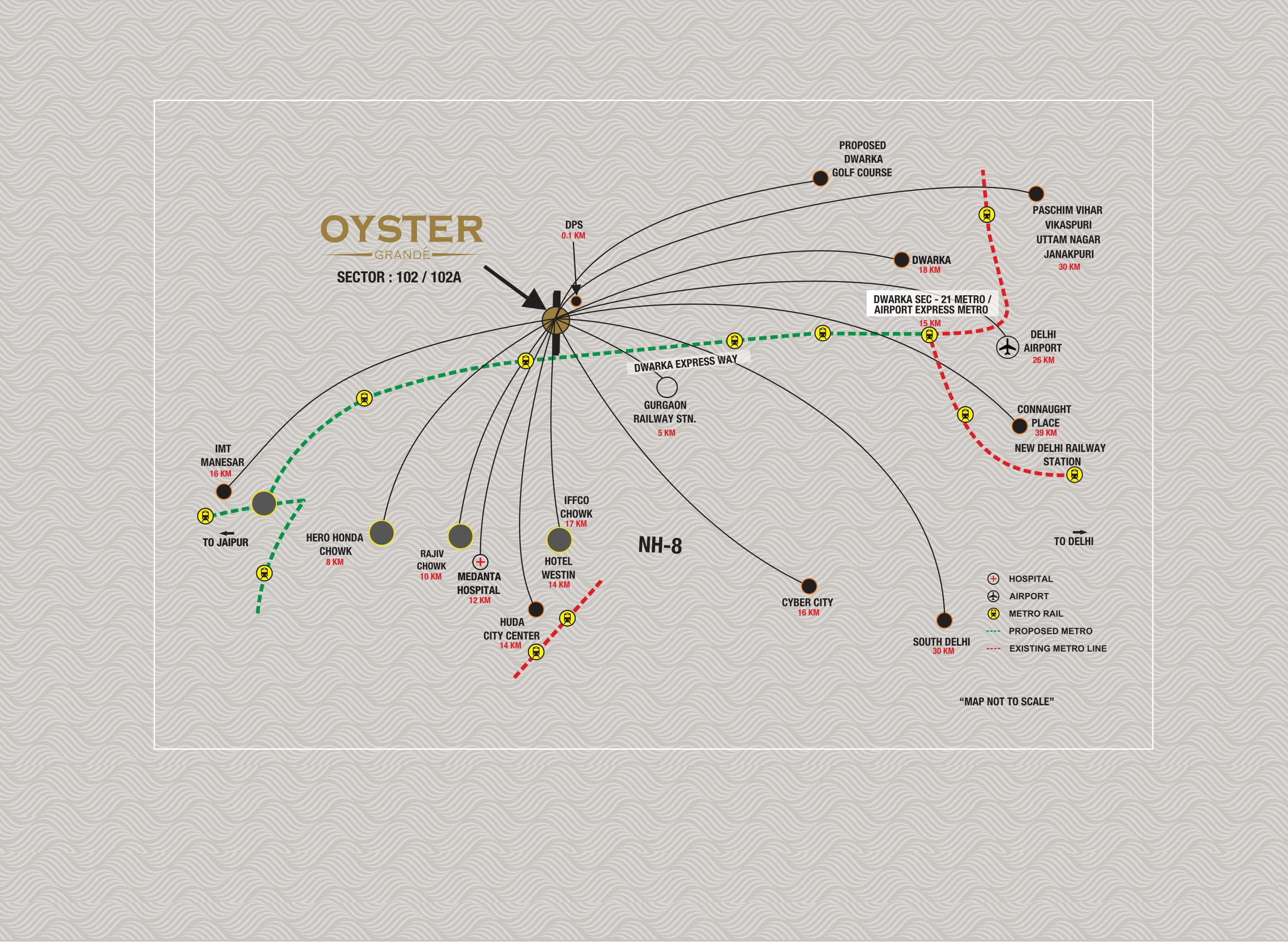 Adani Oyster sector 102 Layout Plan