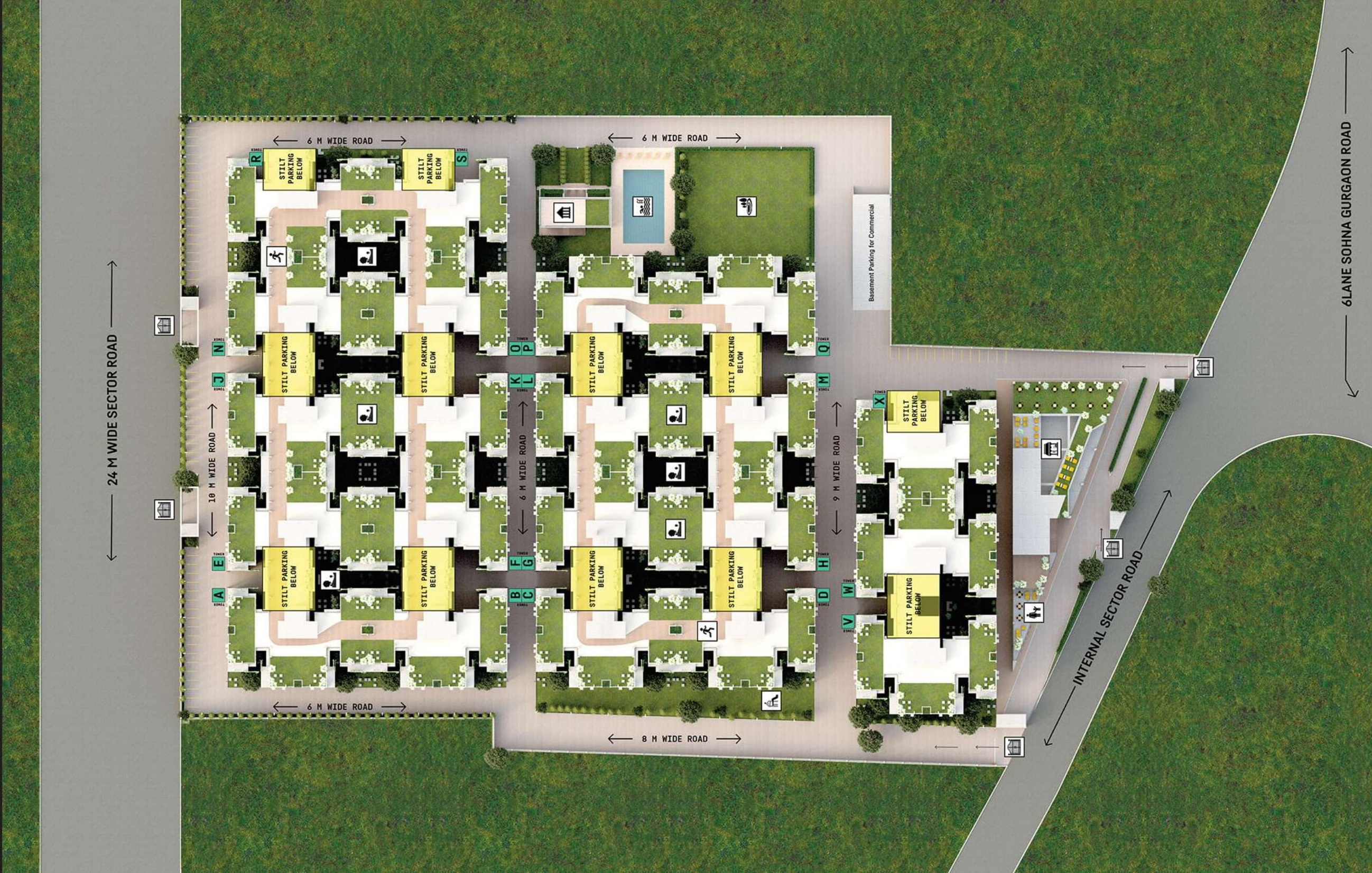 Trisara Our Homes 3 Layout Plan