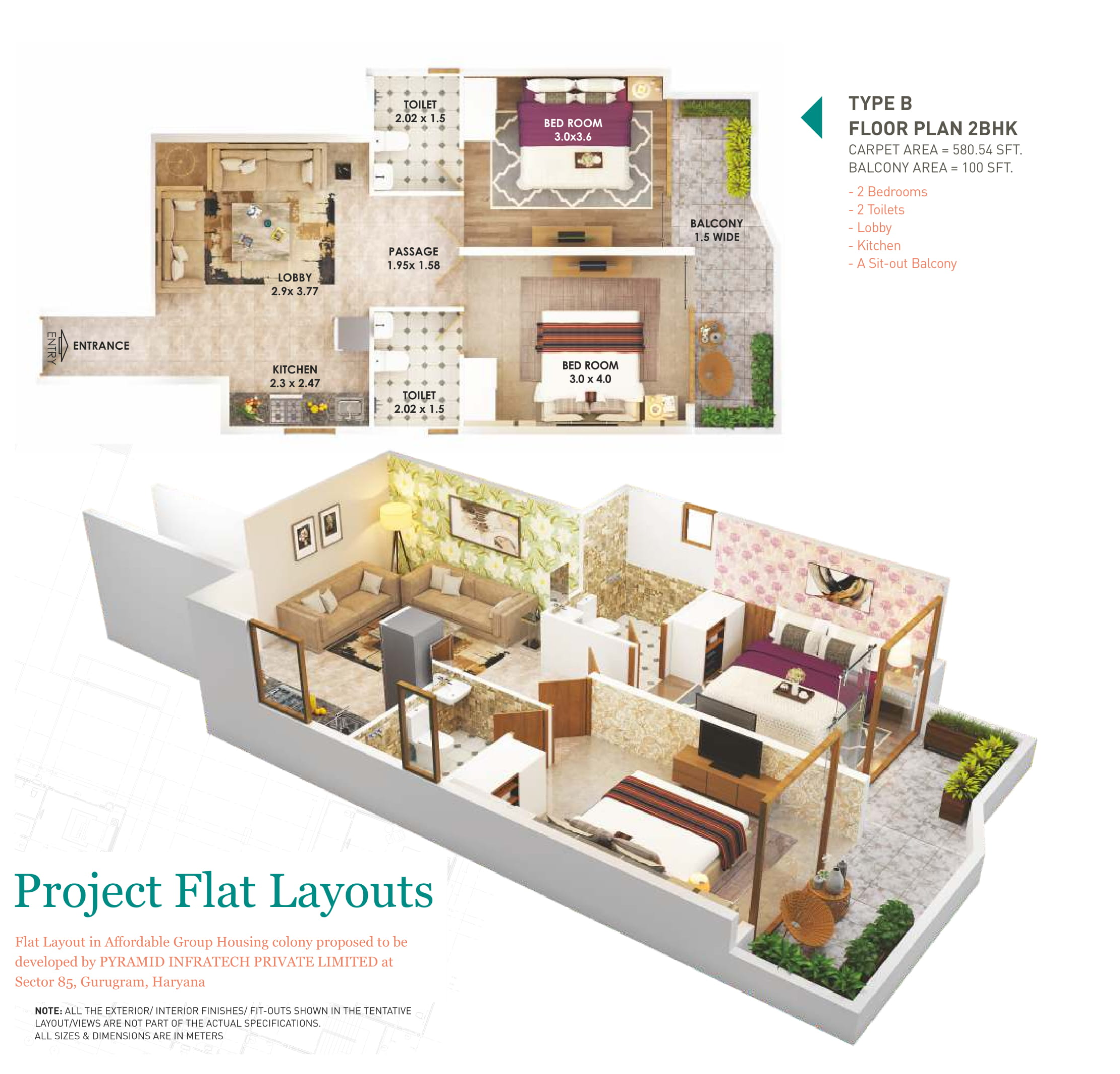 2B Layout Plan