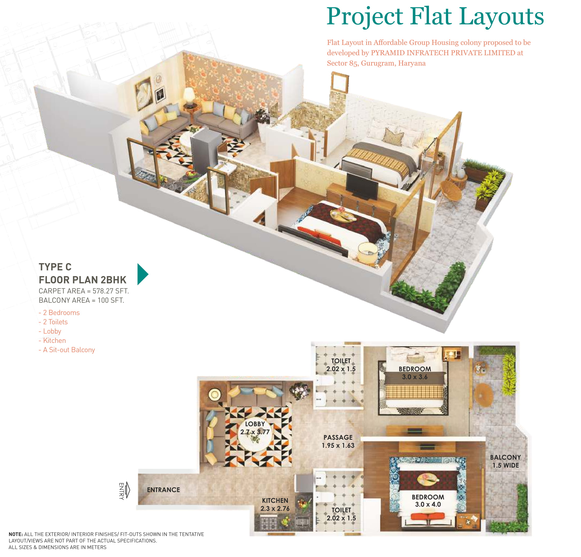 2C Layout Plan