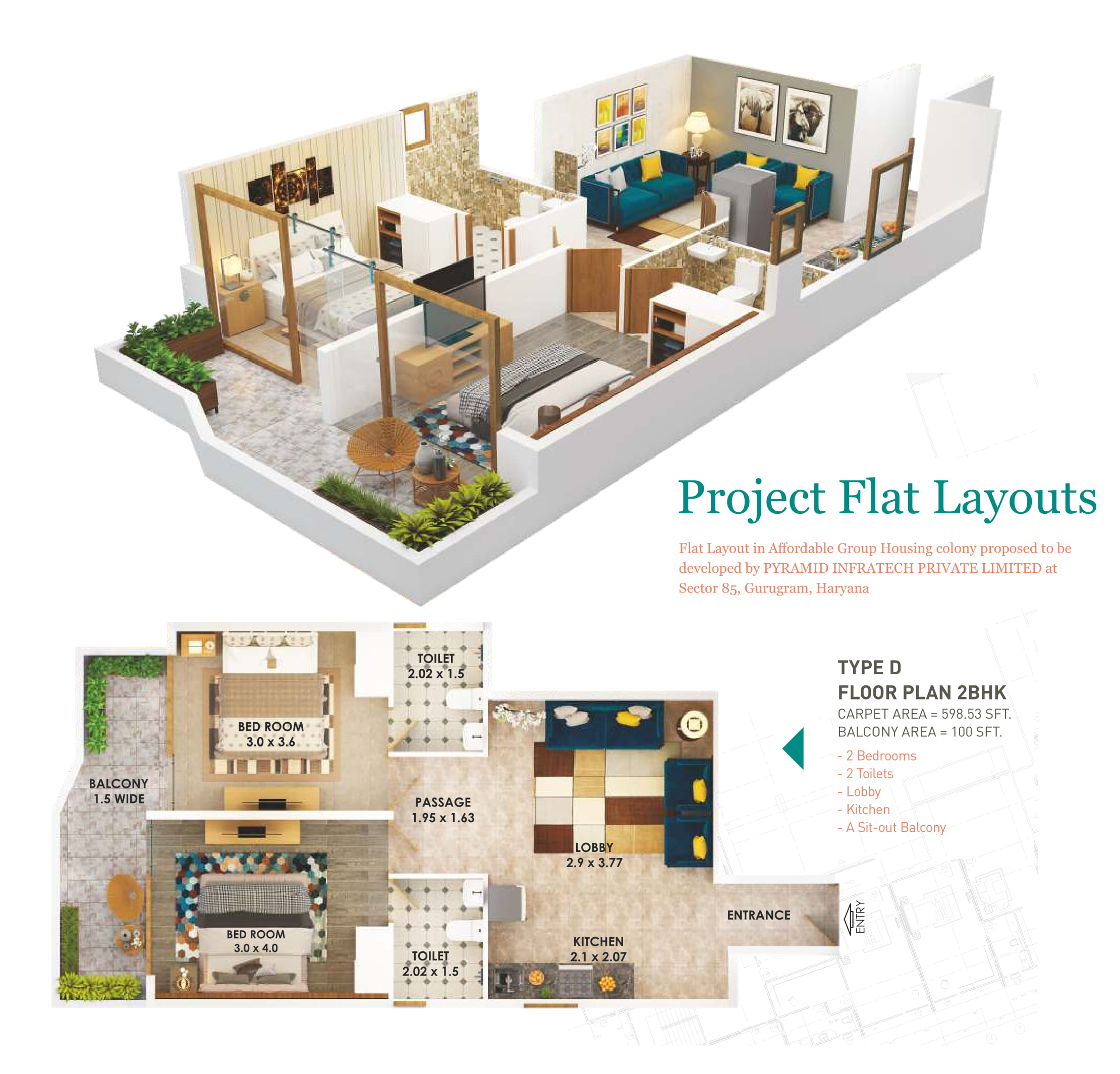 2D Layout Plan