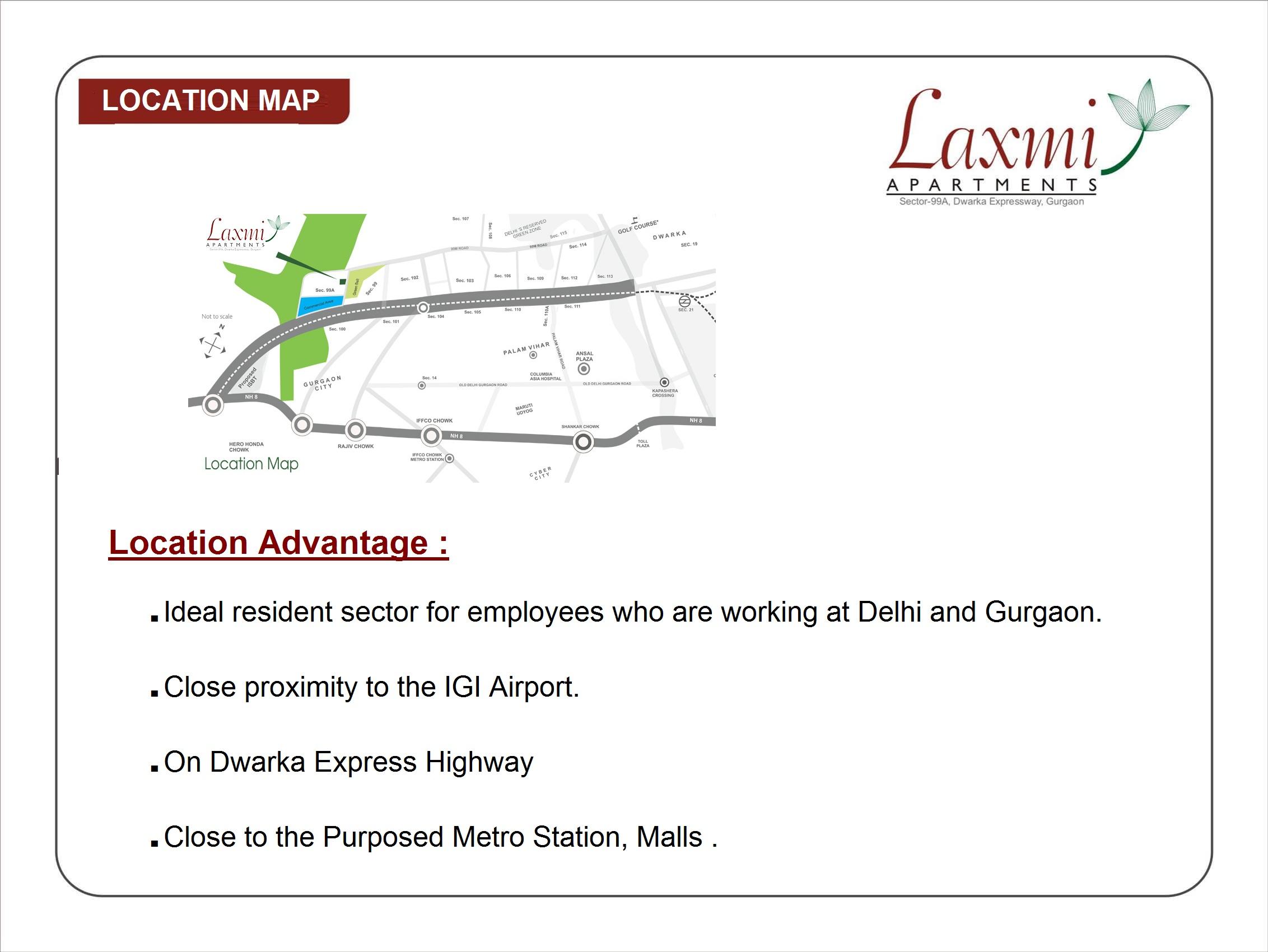 Pareena Laxmi Apartments Layout Plan