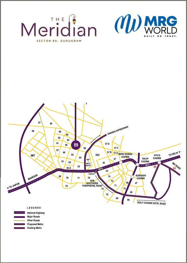 MRG The Meridian Layout Plan