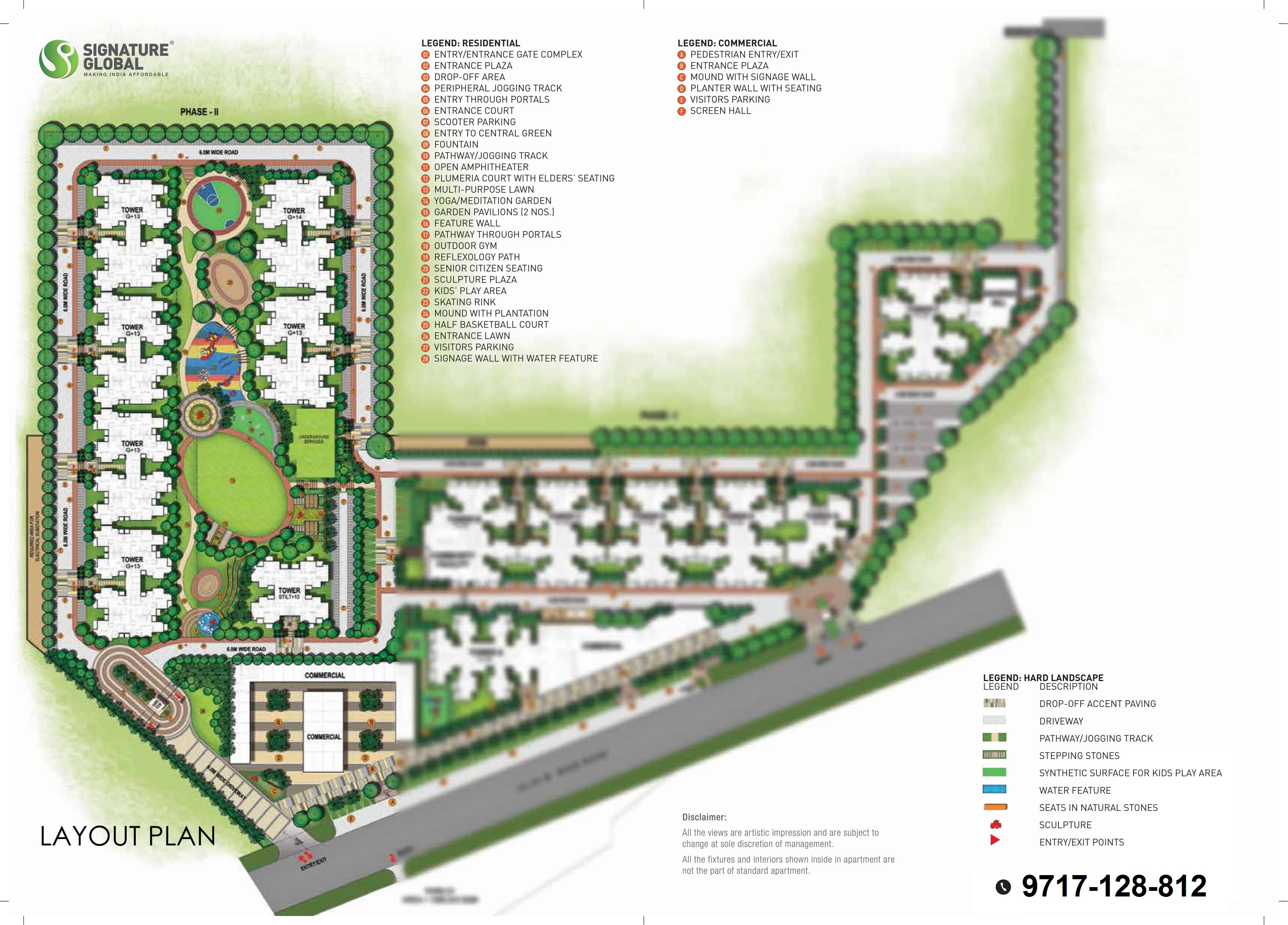 Signature Orchard Avenue 2 Layout Plan