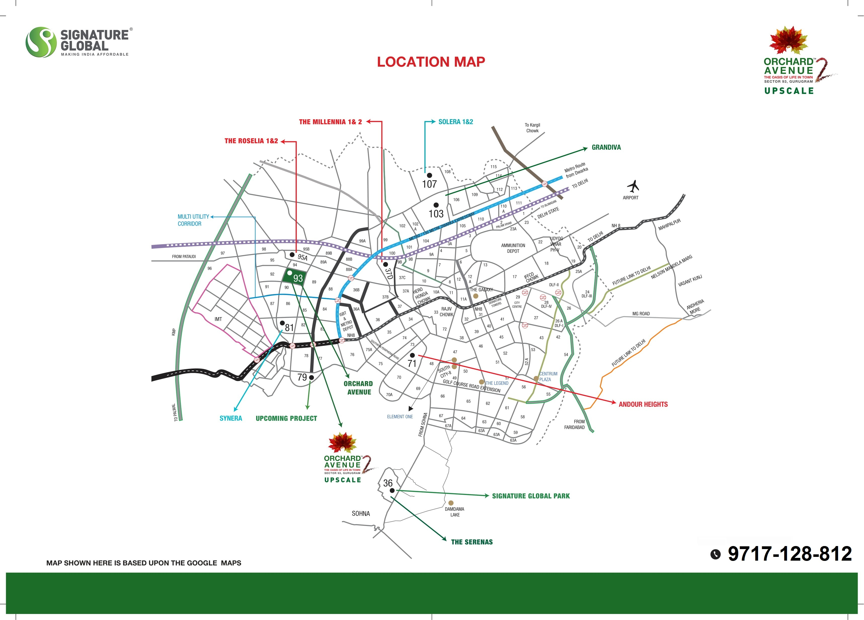 Signature Orchard Avenue 2 Layout Plan