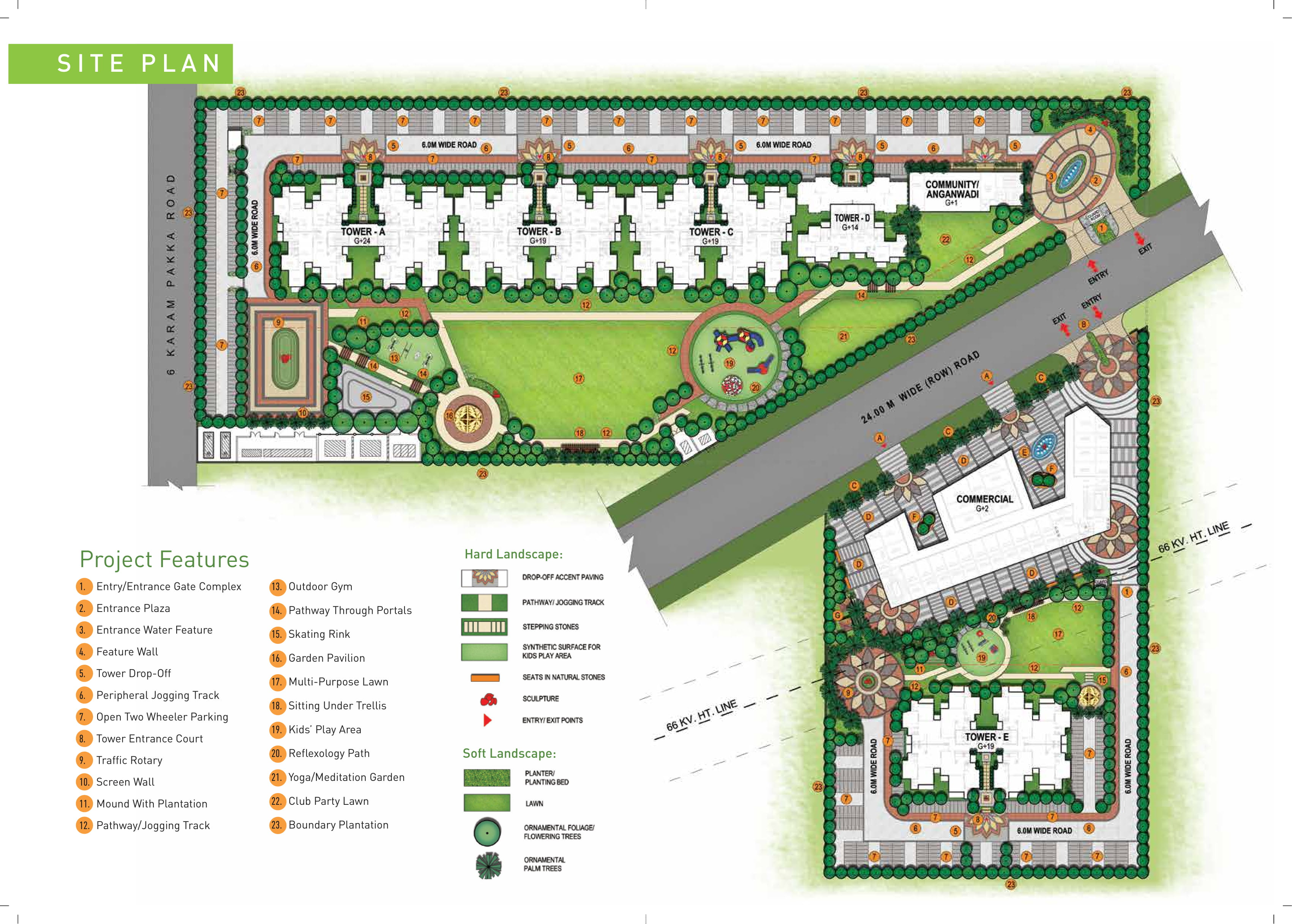 Signature Global Aspire Layout Plan