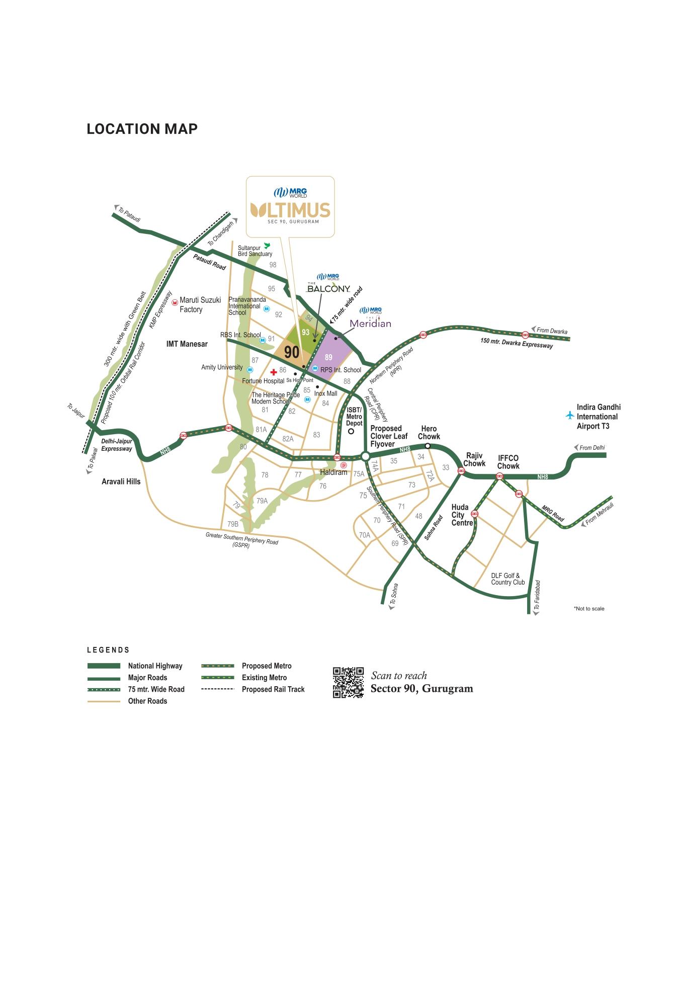 MRG Ultimus Layout Plan