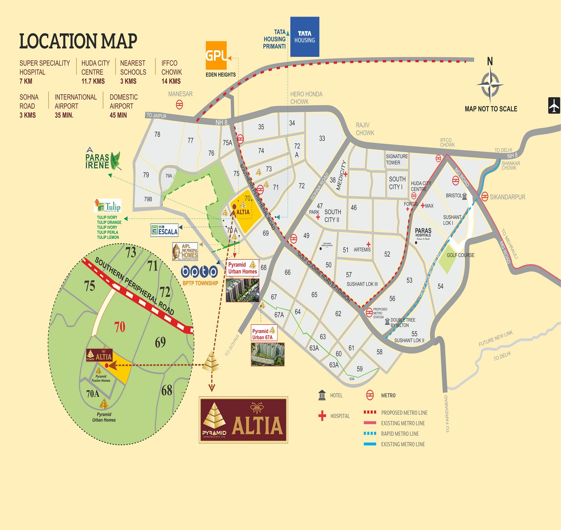 Pyramid Altia Layout Plan