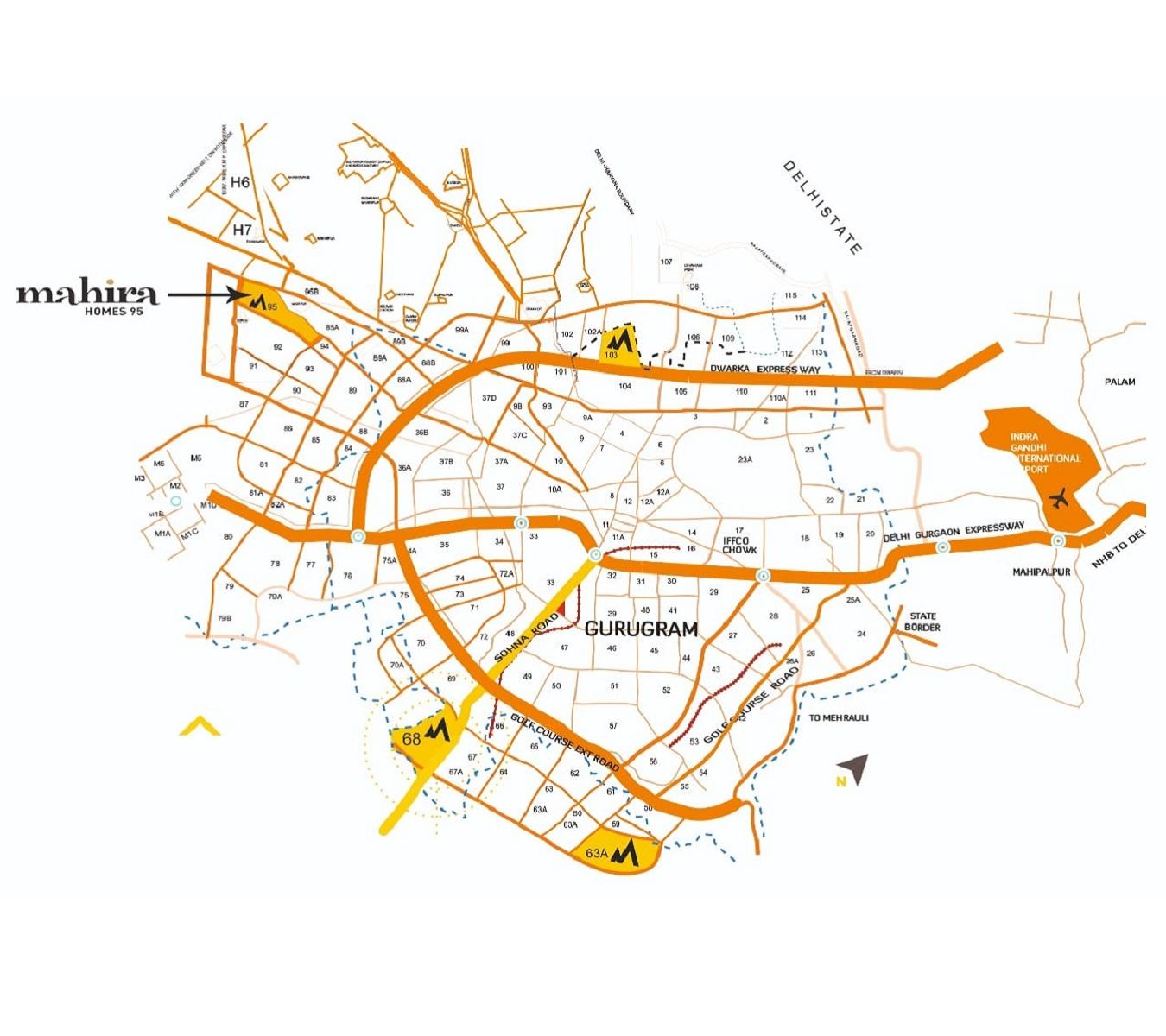 Mahira Homes 95 Layout Plan