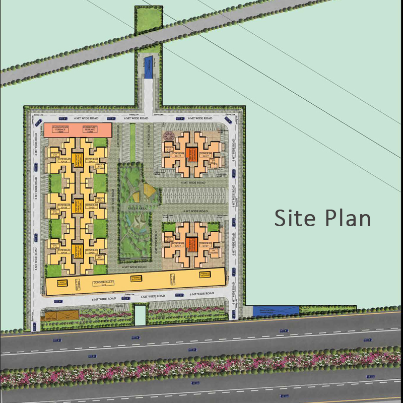 OSB The Venetian Layout Plan