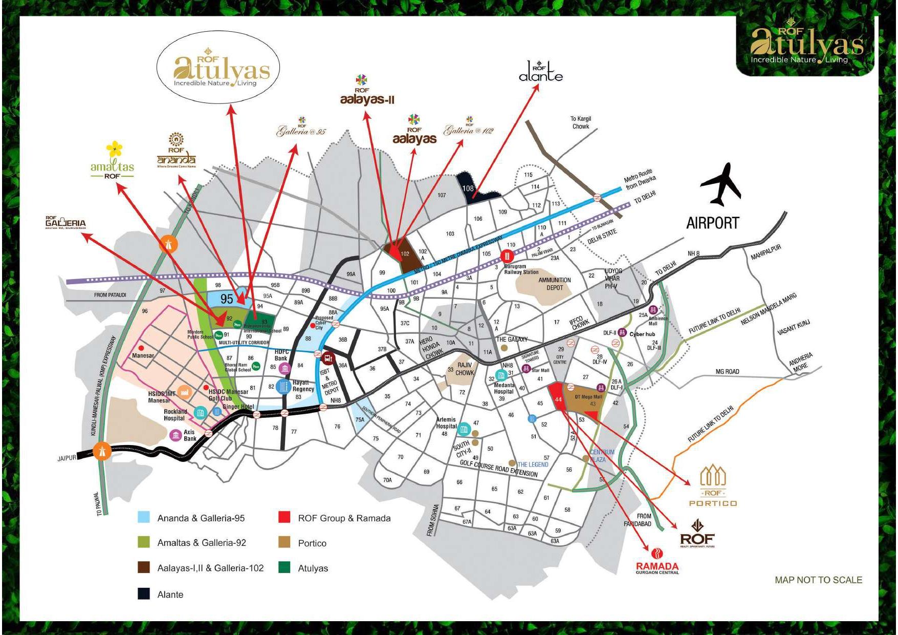 ROF Atulyas Sector 93 Layout Plan