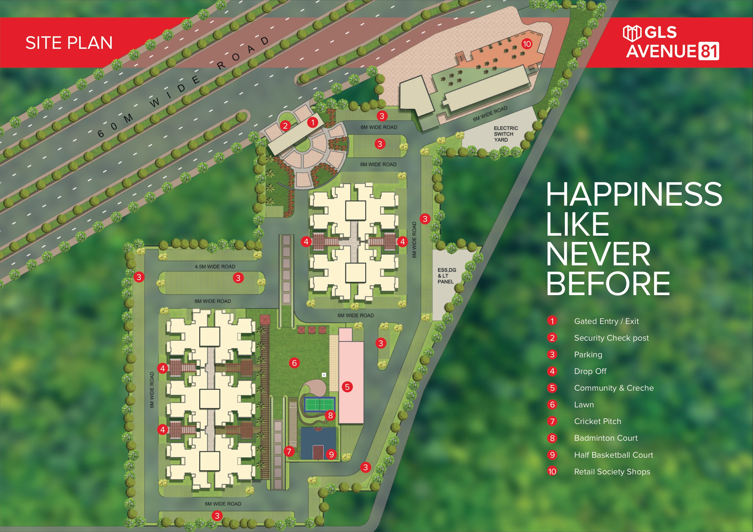 GLS Avenue 81 Layout Plan