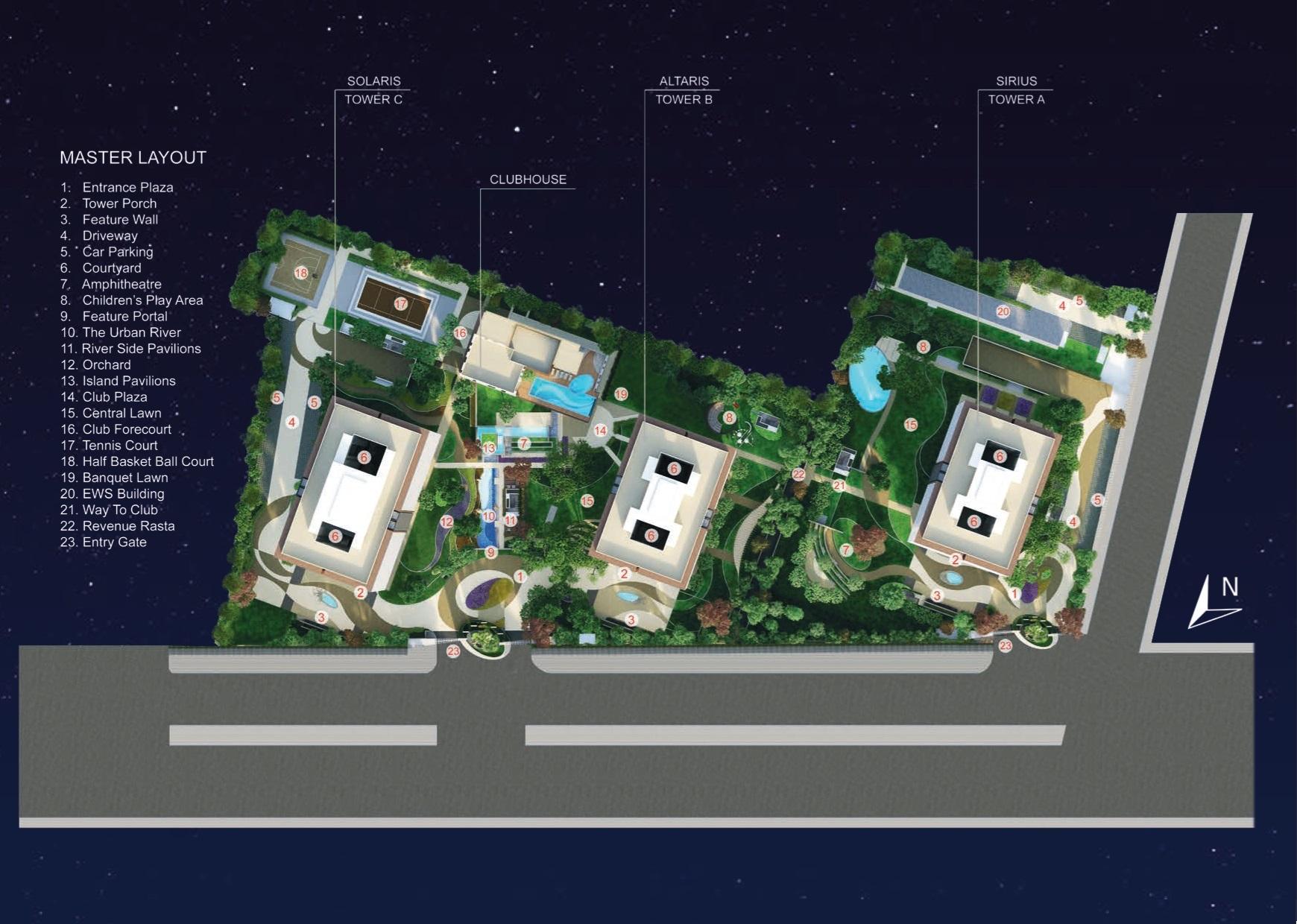 Mahindra Luminare Layout Plan